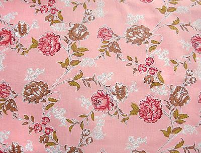 3b8e0e7a377a Broderat siden, 1700-talsinspirerat från Durán Textiles AB
