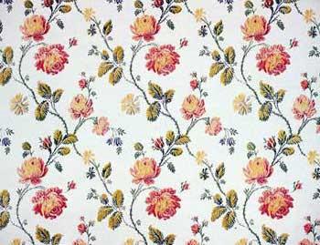 951d325160b1 Barbro Sandell Design säljer 1700-tals tyger efter original av Tobias Lang.