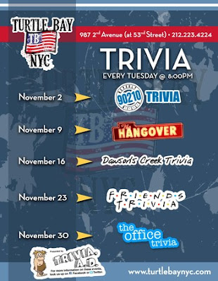 Trivia Night at Turtle Bay - MurphGuide: NYC Bar Guide