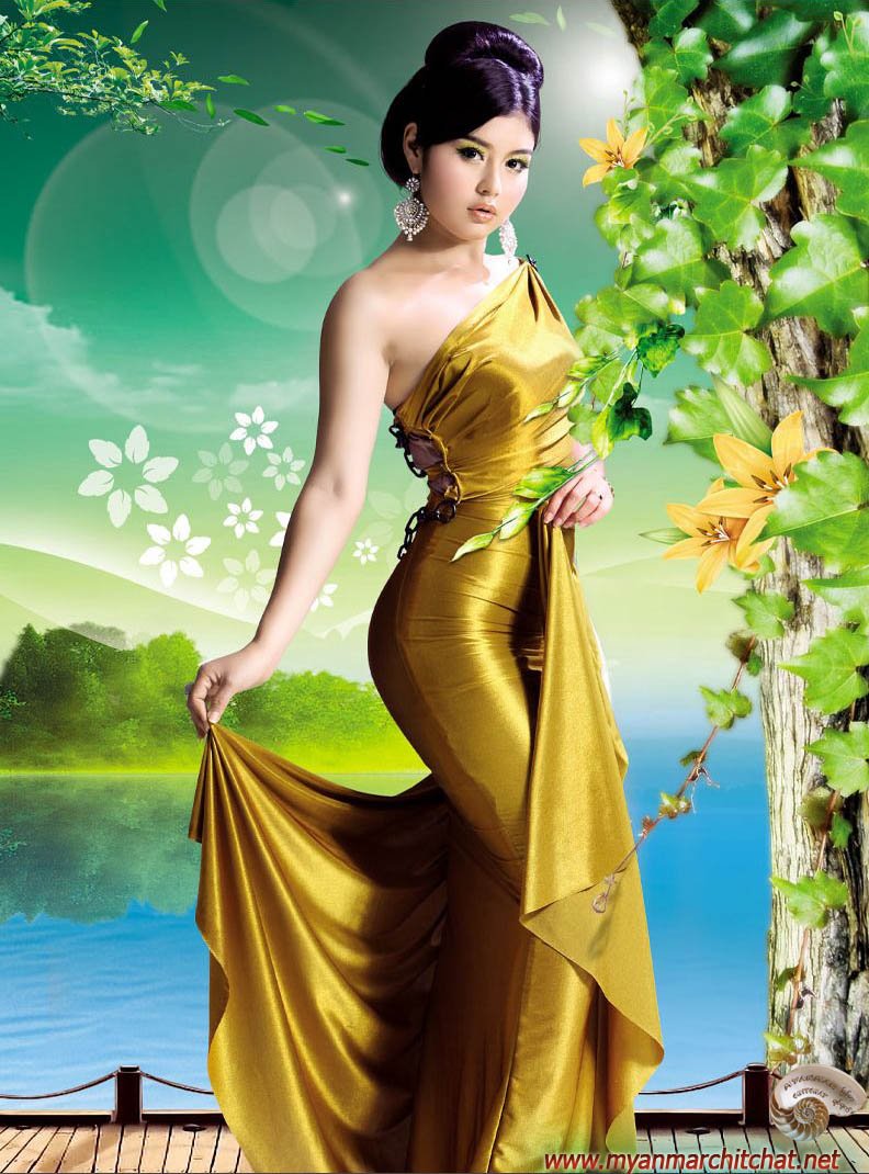 Myanmar Sexy Girls Hot And Gorgeous Melody-2894