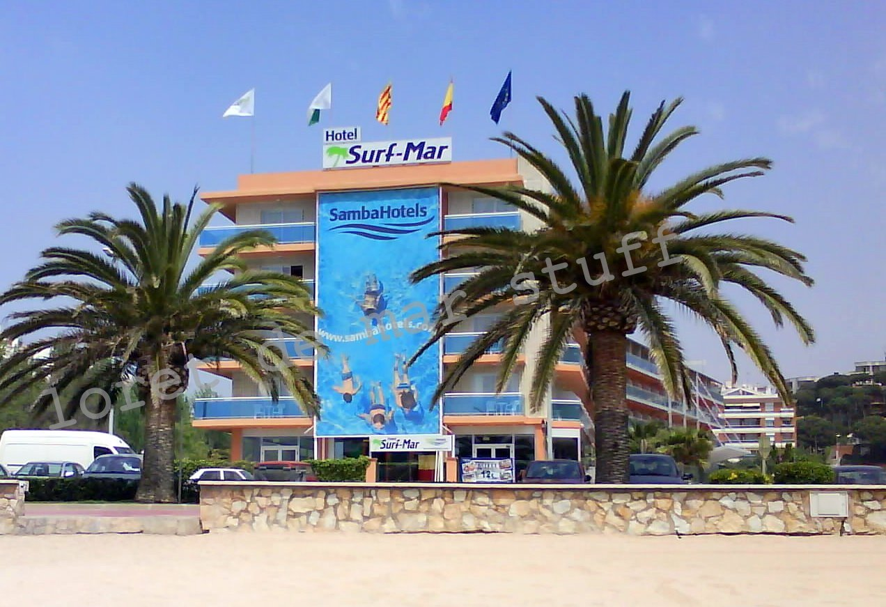 Lloret De Mar Hotels.: Hotel Surf Mar - Lloret de Mar