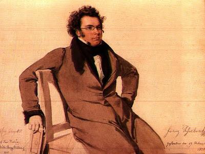 Franz Schubert par Wilhelm August Rieder