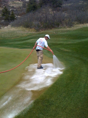The Country Club at Castle Pines Golf Course Maintenance: Wetting Agents