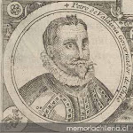Don Pedro de Valdivia.