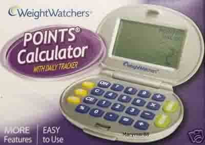 2 easy ways to calculate your weight watchers points.
