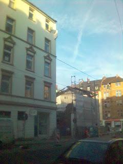 Abgerissen in Frankfurt