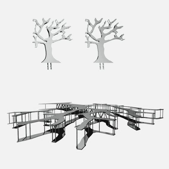 Progetto di arredo urbano architettura for Progetto arredo