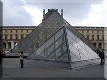 Las pirámides del Louvre