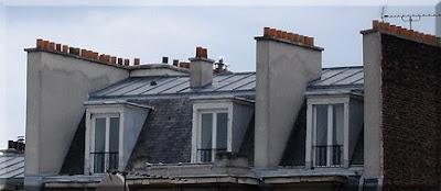 Típicas chimeneas parisinas