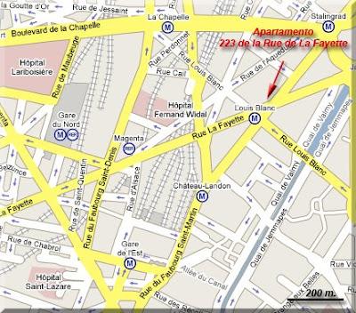 Localización del Apartamento