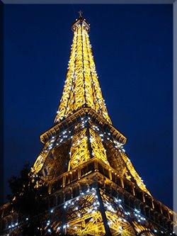 Nueva iluminación de la Tour  Eiffel