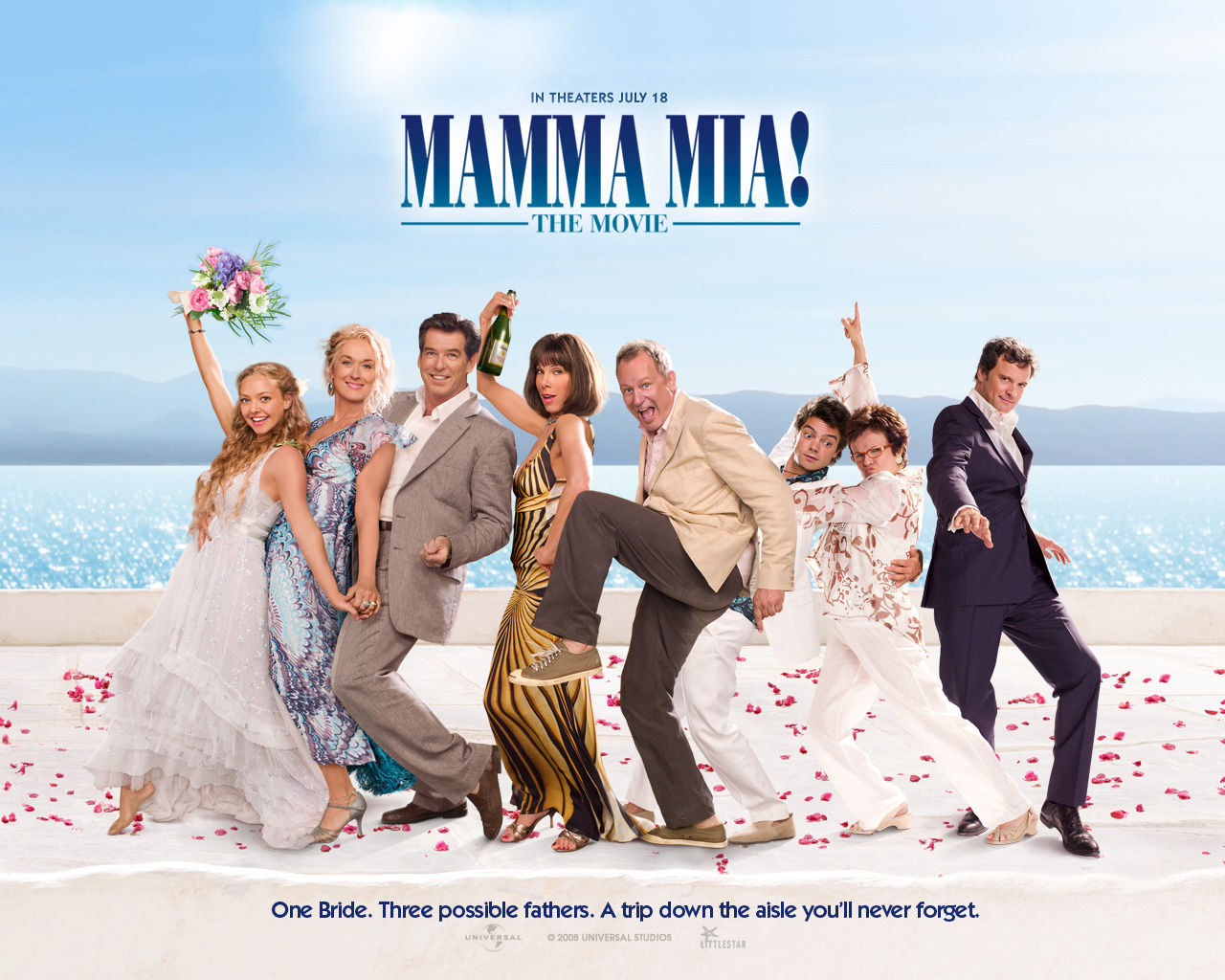 who played in mamma mia the movie