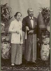 RA Kartini and Her Husband (Jepara Tourism Info)