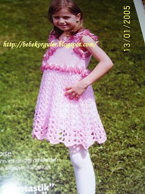 kiz çocuklari için firfirli elbise