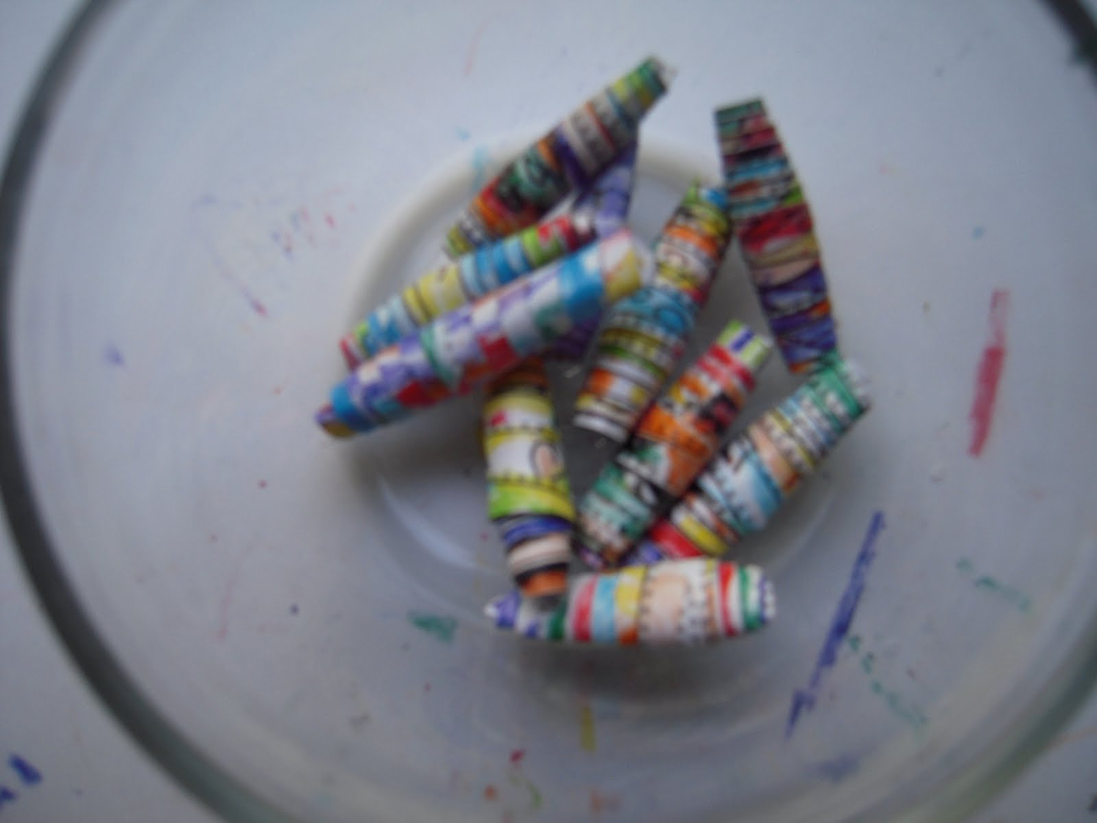 How To Make Rolled Paper Beads Fun Kids Craft Family Focus Blog
