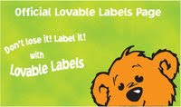 labels for kids stuff