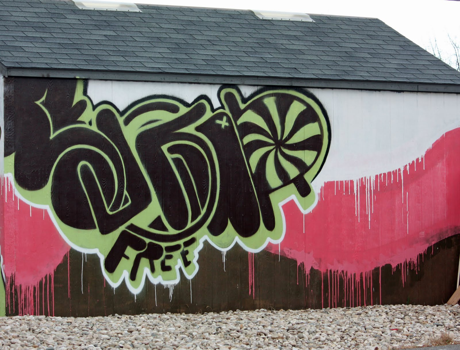 The Word Hope In Graff...