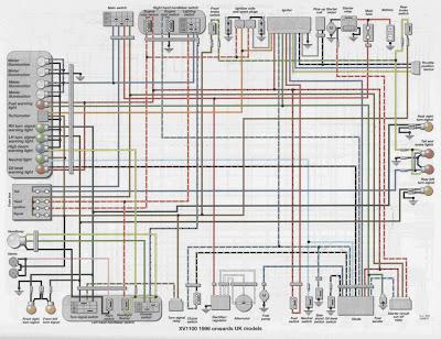 96_uk_XV1100 Harley Davidson Fxr Wiring Diagram For on