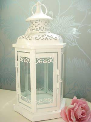 Bacche di estate cristalli di vaniglia lanterne for Lanterne bianche