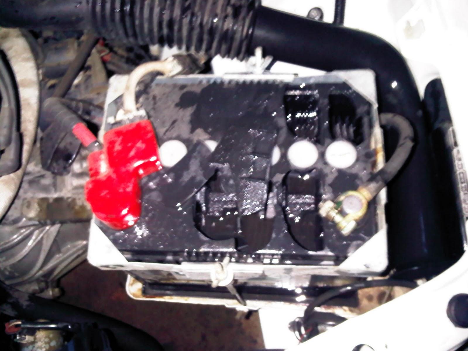Got Car Battery Acid On Hands