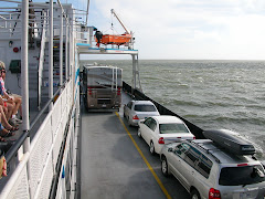 Our RV at sea - on a Ferry