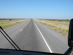 The open road of Texas - nothing
