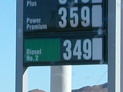 The highest price for diesel - California