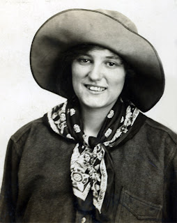 My beloved Grandmother Annie Niland (she was in a play called The Girl of the Golden West)