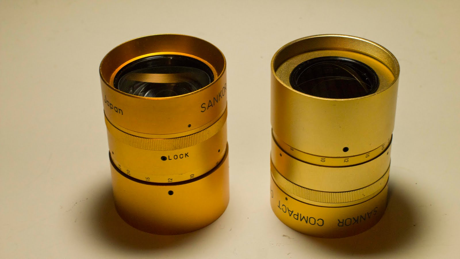 For Sale: Two Sankor Compact Cinemascope Anamorphic