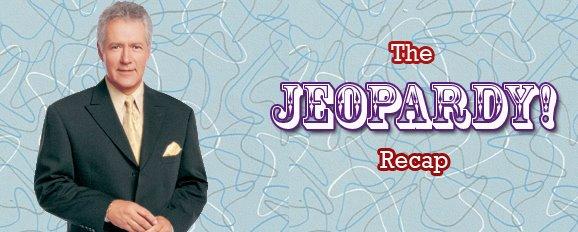 The Jeopardy Recap