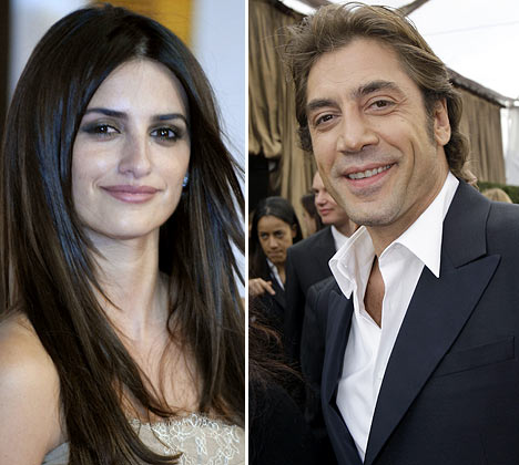 Javier Bardem going out with Penelope Cruz