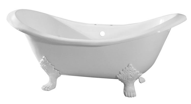 The Daily Tubber Randolph Morris Clawfoot Tub Featured In