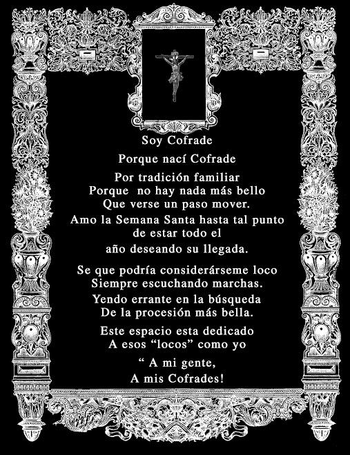 """Cartel de """" Cultos Cofrades"""""""