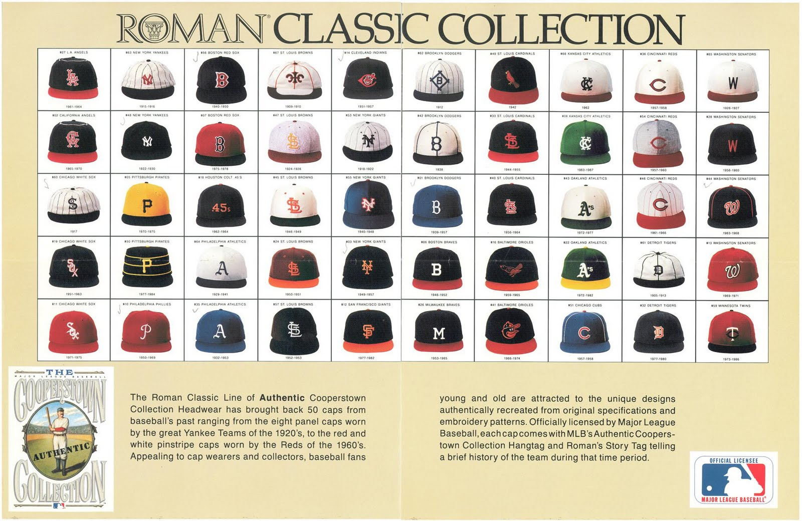 The Ballcap Blog Classic Roman Pro Cap Company Advertisement