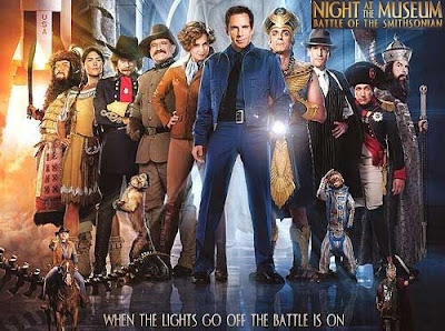 Night at The Museum 2 Battle of the Smithsonian with Ben Stiller