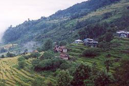 Typical Nepali village