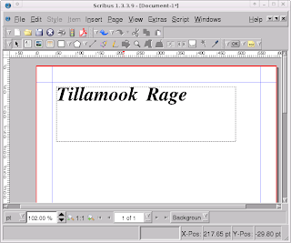 Tillamook Rage: Desktop Publishing In Xubuntu/Ubuntu