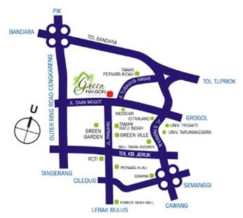 Apriant: PERUMAHAN GREEN MANSION, JAKARTA BARAT