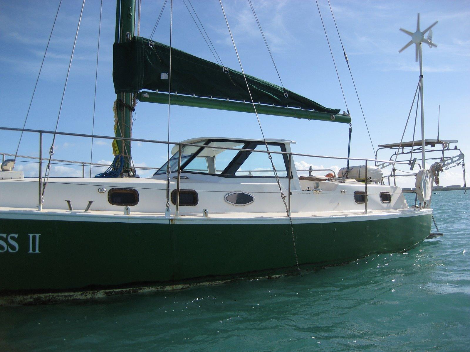 Marshall Design: Hard dodger Sail boat pilot house. Aluminium kit set , assembled and installed ...
