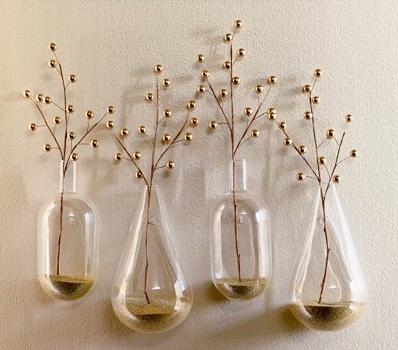 Happy Mundane Jonathan Lo Glass Wall Hanging Vases At Cb2