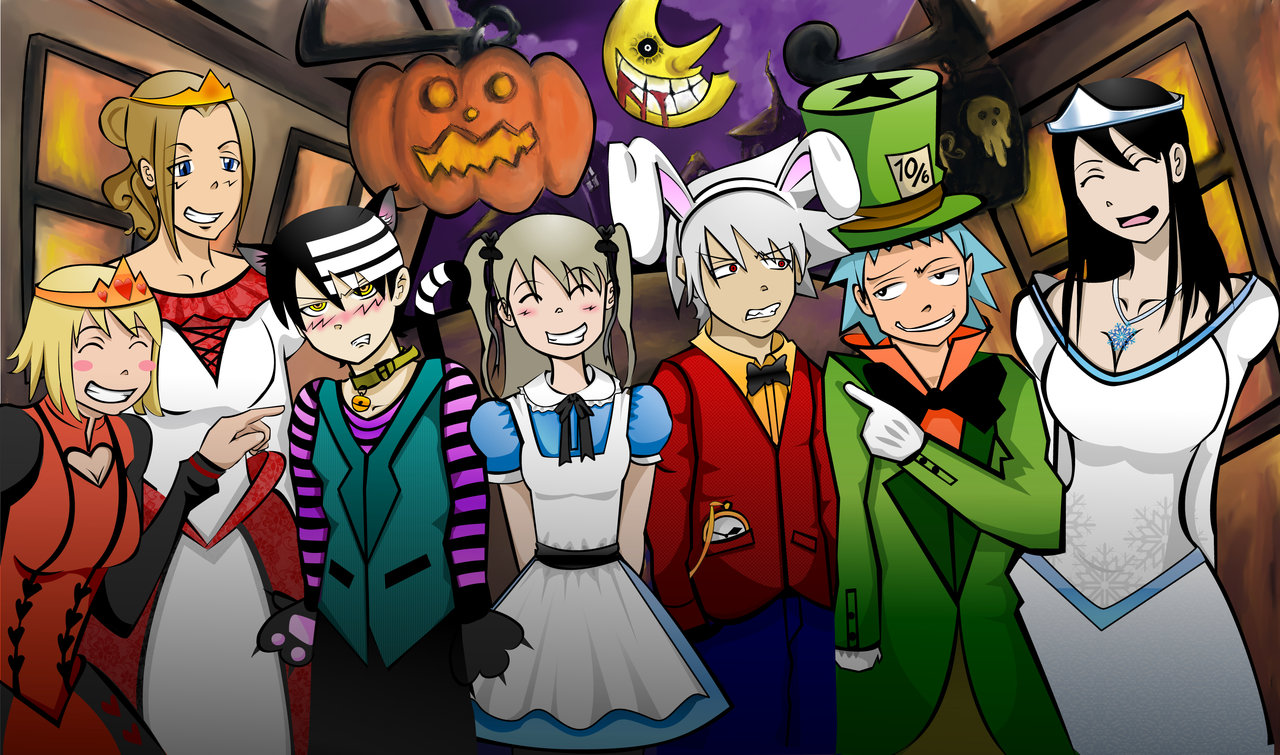 Un wallpaper al dia especial de halloween team iopa - This is halloween soul eater ...