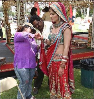 Bollywood actress Katrina Kaif in bridal Wear dress looking gorgeous