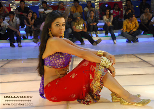 Tollywood actress Charmi in Gaghra Choli