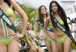 Miss Pakistan in a hot bikini