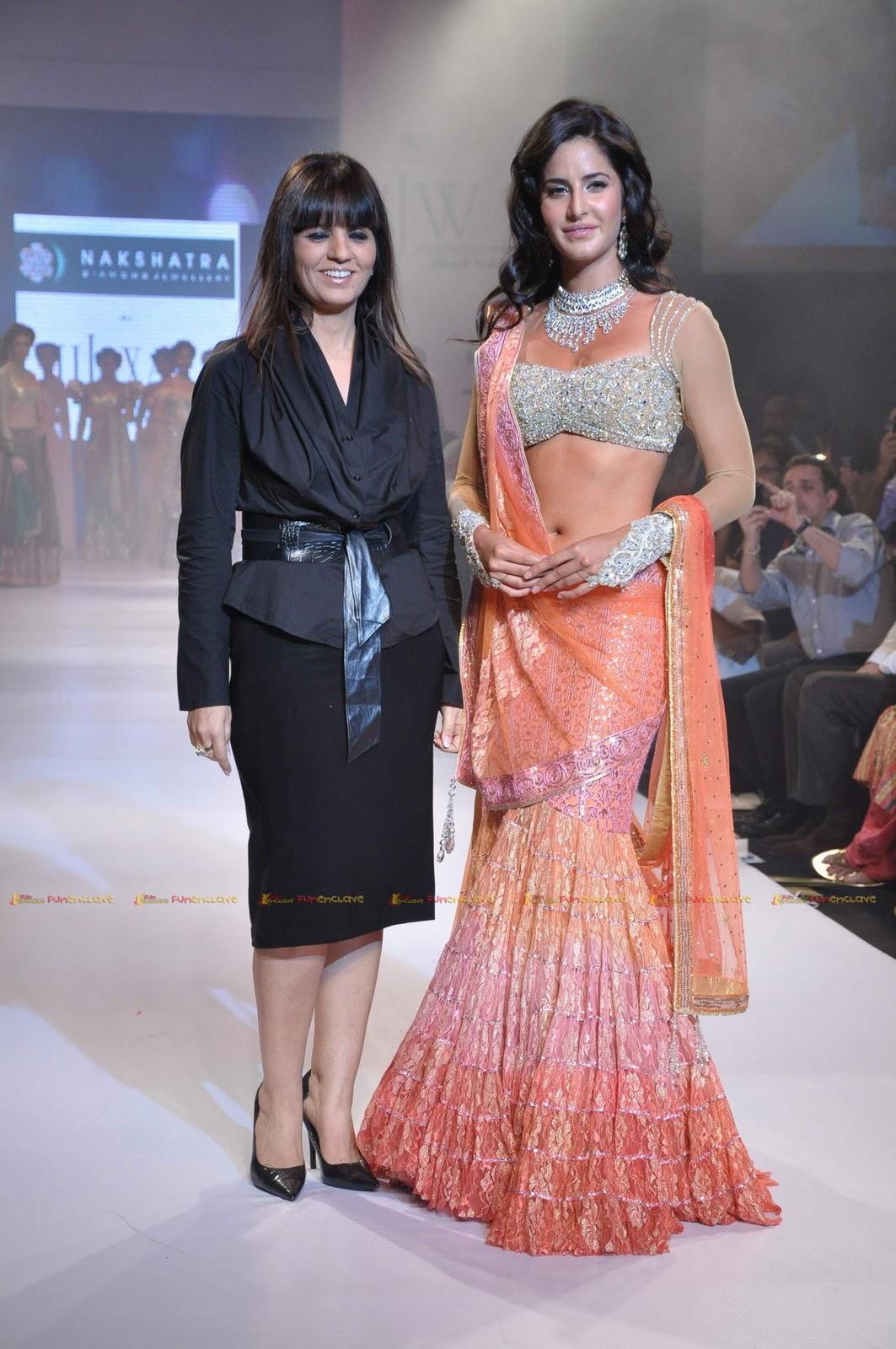Tamil Movie Actress Hot Katrina Kaif In A Sexy Lehenga-5153