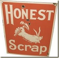 Honest Scrap Blogger Award