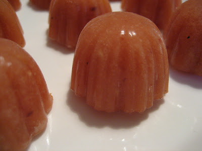 Gazpacho-Pralinen