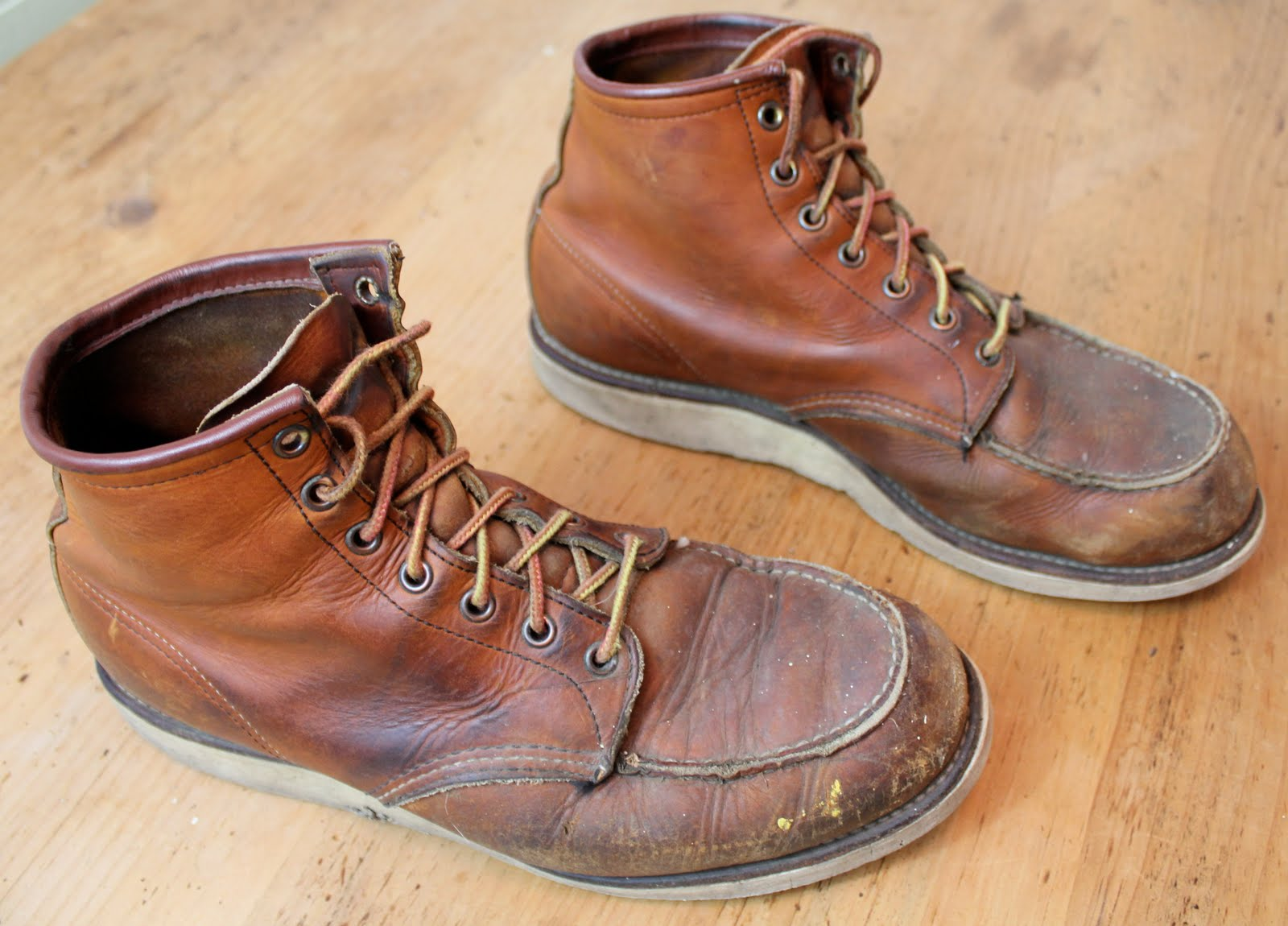 Vintage Workwear Red Wing Work Boots