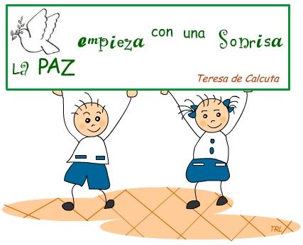 Frases De La Paz Para Niños Imagui