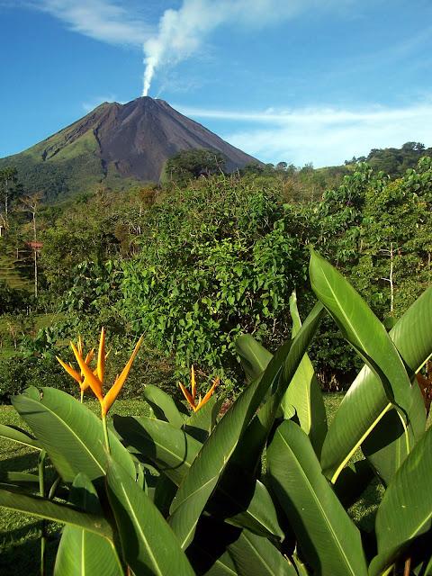 Volcán Arenal en Costa Rica por El Guisante Verde Project